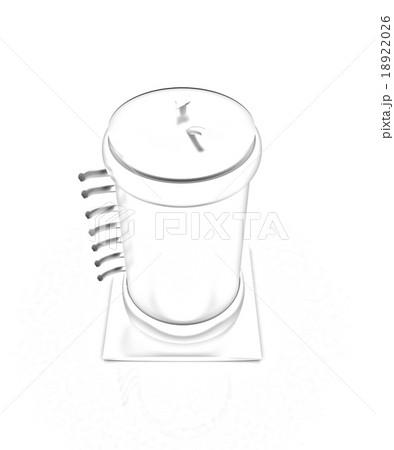 3d abstract metal pressure vesselのイラスト素材 [18922026] - PIXTA