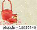 猿 年賀状 申年のイラスト 18930349