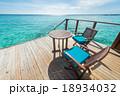 海 テラス 景色の写真 18934032
