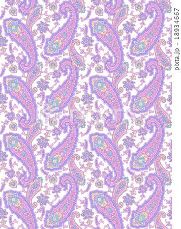 ペイズリー模様のイラスト素材 [18934667] - PIXTA
