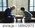 祖父と孫との将棋 18942973