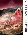 すき焼き 牛すき 牛鍋の写真 18944548