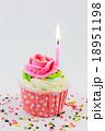Birthday cupcake 18951198