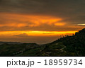 夕日 夕焼 日没の写真 18959734