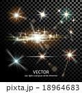 明かり フラッシュ 閃光のイラスト 18964683