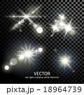 明かり フラッシュ 閃光のイラスト 18964739