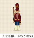 おもちゃ 兵士 戦士のイラスト 18971653