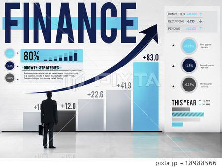 Finance Accounting Analysis Management Conceptの写真素材 [18988566] - PIXTA