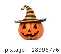 Funny Halloween pumpkin 18996776