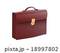 Black leather briefcase 18997802