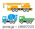 大型工事車両 19007225