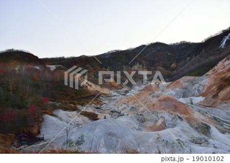登別地獄谷の紅葉 19010102