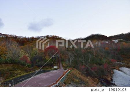 登別地獄谷の紅葉 19010103