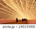 照らす 照明 イルミネーションの写真 19015066