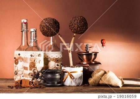 The coffee decorationsの写真素材 [19016059] - PIXTA