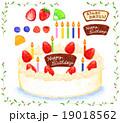 誕生日ケーキ 19018562