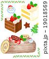 クリスマスケーキ 19018569