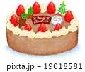 クリスマスチョコケーキ 19018581