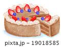 チョコケーキ 19018585