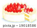 イチゴのケーキ 19018586