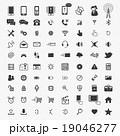 携帯電話 ガジェット アイコンのイラスト 19046277