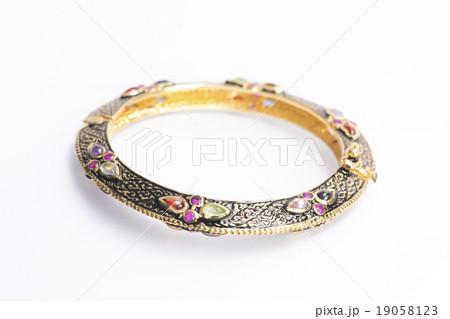 Local jewelry containing silverの写真素材 [19058123] - PIXTA