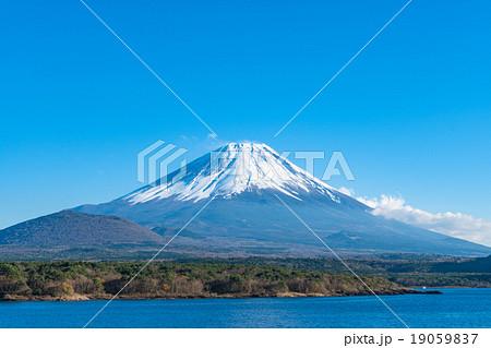 富士山【11月・本栖湖より撮影】 19059837