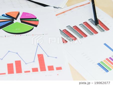 business graphの写真素材 [19062077] - PIXTA