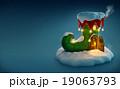 クリスマス xマス おとぎ話のイラスト 19063793