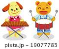演奏会・動物キャラクター 19077783