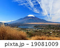 高指山から富士山と山中湖の眺望 19081009