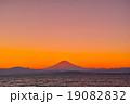 富士山 夕焼け 夕暮れの写真 19082832