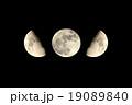 月 満月 半月の写真 19089840