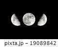 月 満月 半月の写真 19089842