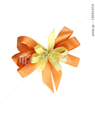 Orange ribbon.の写真素材 [19092054] - PIXTA