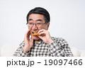シニアの男性(歯) 19097466