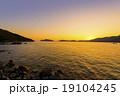 宇和島の夕日 19104245