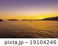 宇和島の夕日 19104246