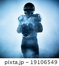 american football player silhouette 19106549