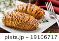 Baked hasselback potatoes  19106717