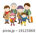 旅行 家族 家族旅行のイラスト 19125868
