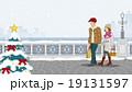 カップル クリスマスの街 19131597