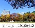 日比谷公園 秋 紅葉の写真 19160412