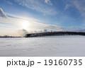 北海道の雪原 19160735
