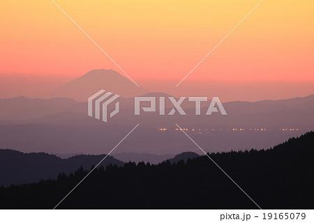 茨城県から見える富士山♪ 19165079