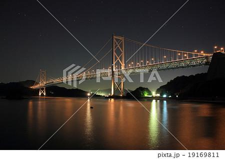 しまなみ海道(因島大橋・夜) 19169811