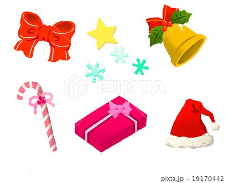 クリスマス素材セット 19170442