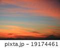 富士の夕景 19174461