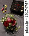 チョコとお花 19174767