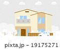 住宅 雪 19175271